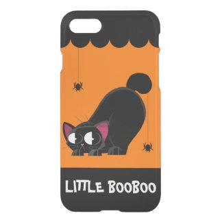 Schwarze Katze und Spinne Halloweens iPhone 8/7 Hülle