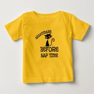 Schwarze Katzen-Baby-Geldstrafe-Jersey-T - Shirt