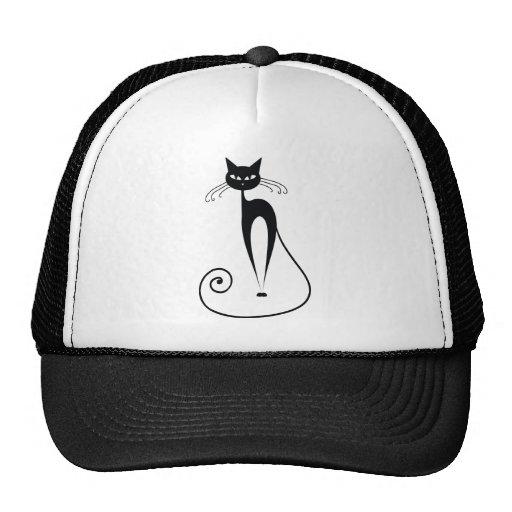 Schwarze Katzen Kult Mützen