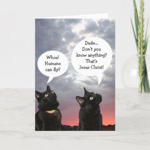 Lustige Ostern Der Schwarzen Katze Geschenke Zazzle De