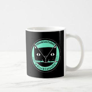 Schwarze Katzen sagen aller schwarze Katzen-Tasse Kaffeetasse