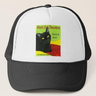 Schwarze Katzen-Schokolade, Dunkelheit und Reiche Truckerkappe