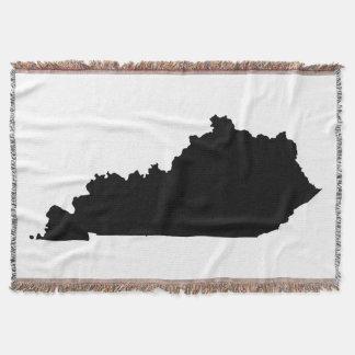 Schwarze Kentucky-Form Decke
