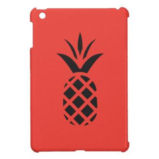 Schwarze Kiefer Apple im Rot iPad Mini Hülle