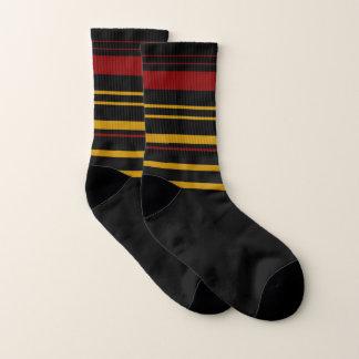 Schwarze kleine ganz vorbei - Druck-Socken Socken