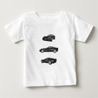 Schwarze Korvette Baby T-shirt