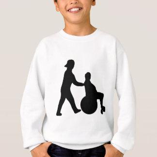 schwarze Krankenschwesterikone Sweatshirt