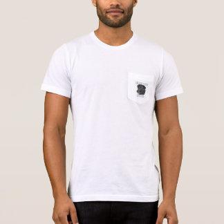 Schwarze Labrador-Angelegenheit zwei T-Shirt