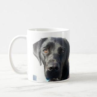Schwarze Labrador-Tasse Tasse
