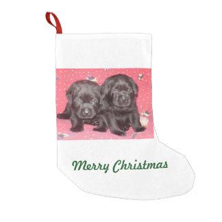 Schwarze Labrador-Welpen - WeihnachtsStrumpf Kleiner Weihnachtsstrumpf