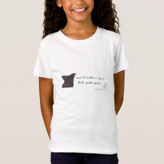 schwarze Labradorgrubenmischung T-Shirt
