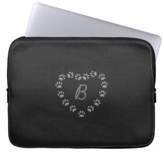 Schwarze Laptopschutzhülle
