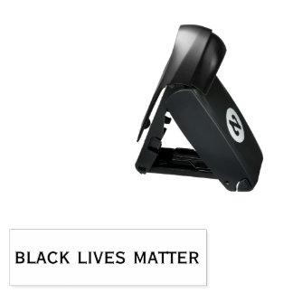 Schwarze Leben-Angelegenheit Taschenstempel
