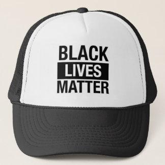 Schwarze Leben-Angelegenheit Truckerkappe