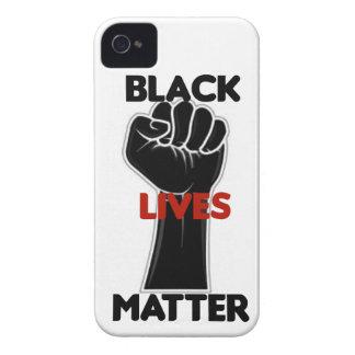 Schwarze Leben-Angelegenheits-Gleichheits-Rechte iPhone 4 Cover