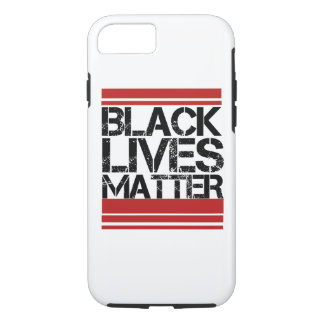Schwarze Lebenangelegenheit iPhone 7 Hülle