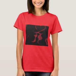 Schwarze Liebe T-Shirt
