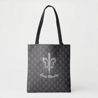 Schwarze Lilie Tasche