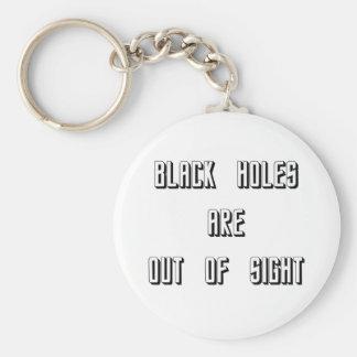 Schwarze Löcher sind aus den Augen Schlüsselanhänger