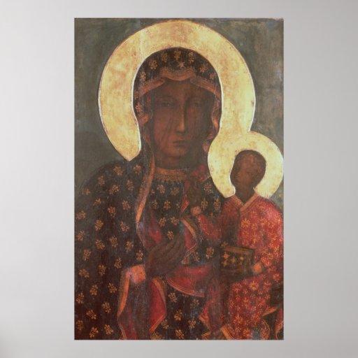 Schwarze Madonna von Jasna Gora Poster