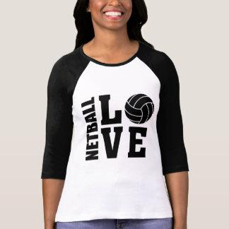 Schwarze Netball-Liebe, Netball T-Shirt