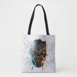 Schwarze panther-Straßen-Kunst des Panther-| Tasche
