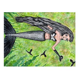 Schwarze Perle - Postkarte