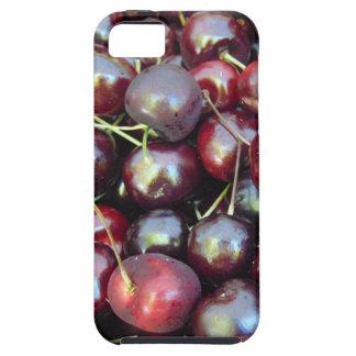 Schwarze Perlen-Kirschen iPhone 5 Hülle