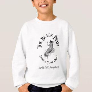 Schwarze Perlen-on-line-Speicher Sweatshirt