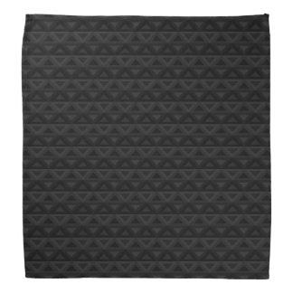 Schwarze Rhombus™ Bandanna Halstuch