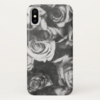 Schwarze Rosen iPhone X Hülle