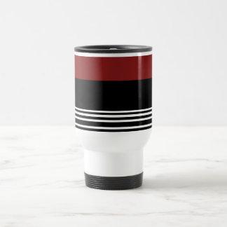 Schwarze rote White>CoffeeTravel Tasse