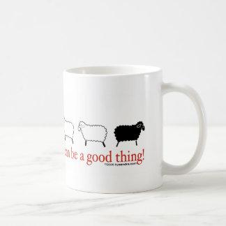 Schwarze Schafe Kaffeetasse