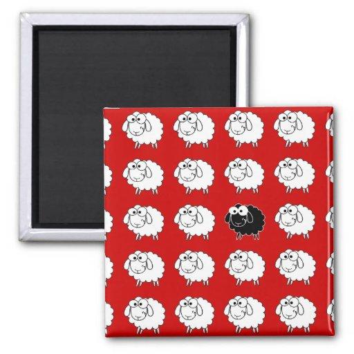 Schwarze Schafe Magnete