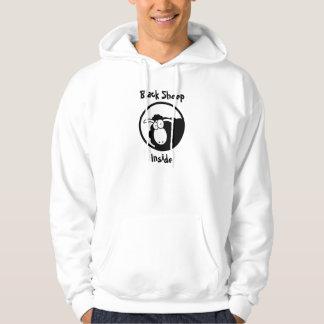 Schwarze Schafe nach innen Kapuzensweatshirts