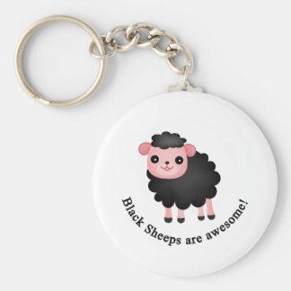 Schwarze Schafe sind fantastisch Schlüsselanhänger