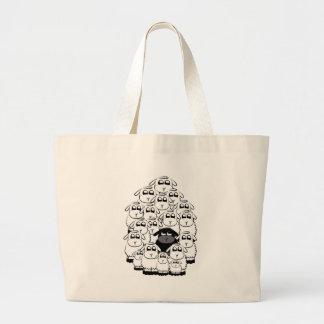Schwarze Schafe Einkaufstaschen
