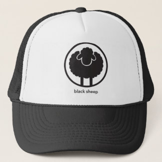 Schwarze Schafe Truckerkappe