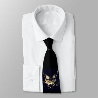 Schwarze Schmetterlings-Krawatte Krawatte