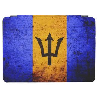 Schwarze Schmutz-Barbados-Flagge iPad Air Cover