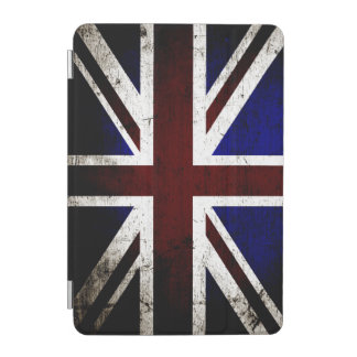 Schwarze Schmutz-England-Flagge iPad Mini Hülle