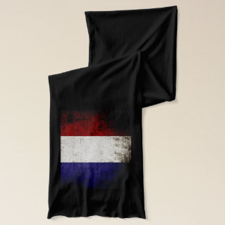 Schwarze Schmutz-Frankreich-Flagge Schal