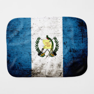 Schwarze Schmutz-Guatemala-Flagge Spucktuch