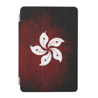Schwarze Schmutz-Hong Kong-Flagge iPad Mini Hülle