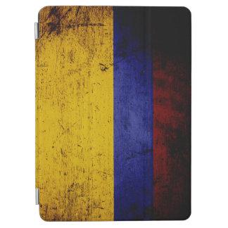 Schwarze Schmutz-Kolumbien-Flagge iPad Air Hülle