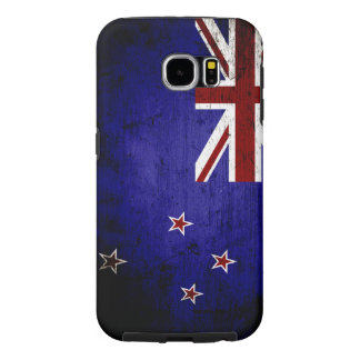 Schwarze Schmutz-Neuseeland-Flagge 1