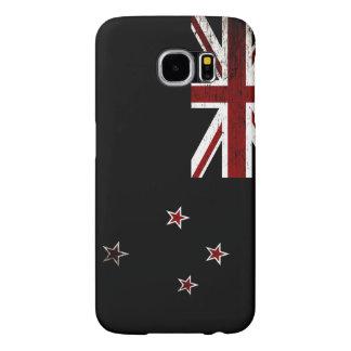 Schwarze Schmutz-Neuseeland-Flagge 2