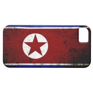 Schwarze Schmutz-Nordkorea-Flagge 1 iPhone 5 Hülle