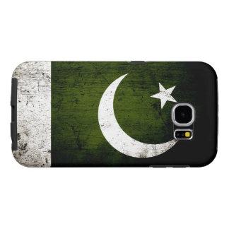 Schwarze Schmutz-Pakistan-Flagge