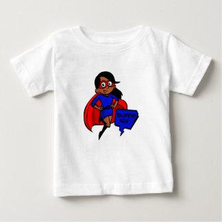 schwarze Supermamma Baby T-shirt